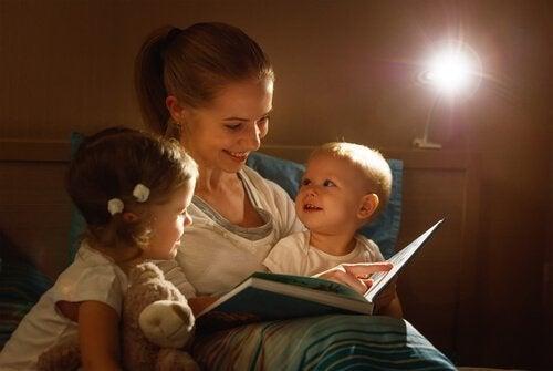 Iltasatujen lukemisen tärkeys