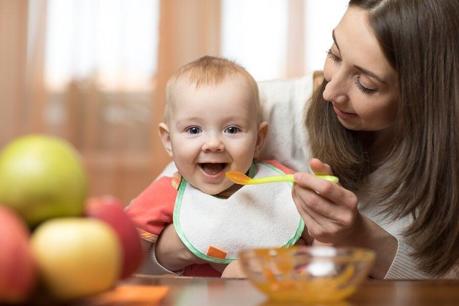 Helpot soseet 6-9 kuukauden ikäiselle lapselle