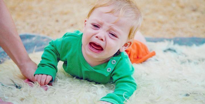 Lapsen kaatuminen on yleinen sattumus