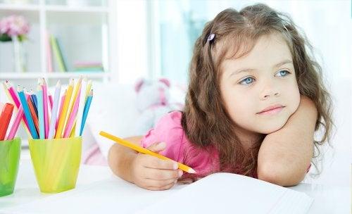 Lapsen keskittymisongelmat