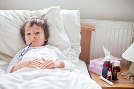 Mistä lapsen jatkuva sairastelu johtuu?