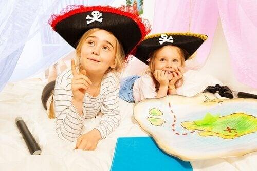 Kehittäviä aktiviteetteja esikouluikäiselle lapselle - aarteenetsintä