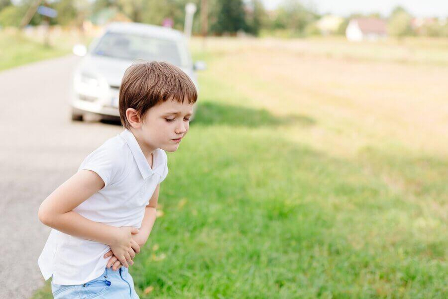 Lapsen matkapahoinvoinnin ehkäisy