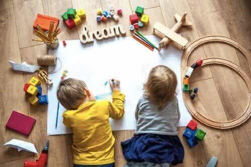 Kehittäviä aktiviteetteja esikouluikäiselle lapselle