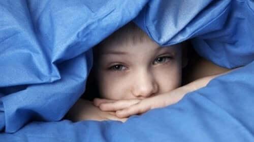 Tavallisimmat lasten unihäiriöt