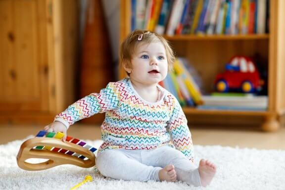 Äänilelut edistävät lapsen kehitystä