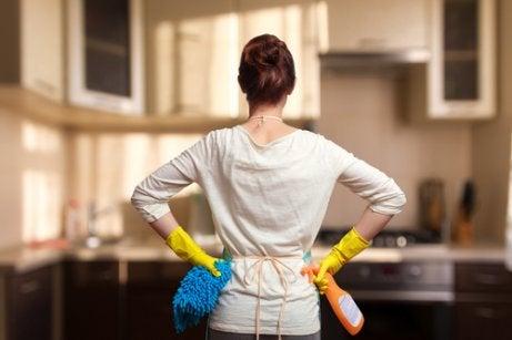 Kodin siistinä pitämiseen auttaa siivousrutiinin luominen