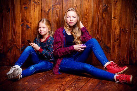 Sisarussuhteet teini-iässä