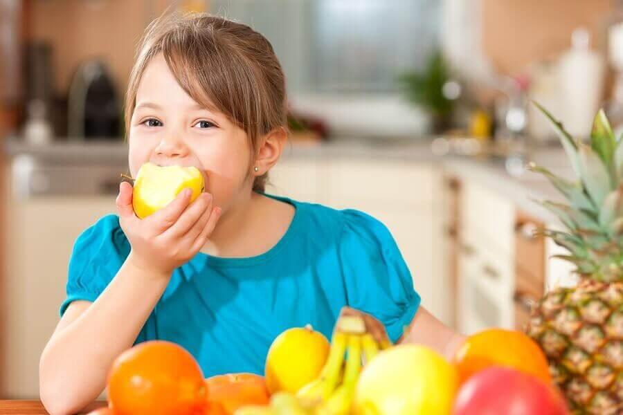 Lapsen terveellisten elintapojen edistäminen