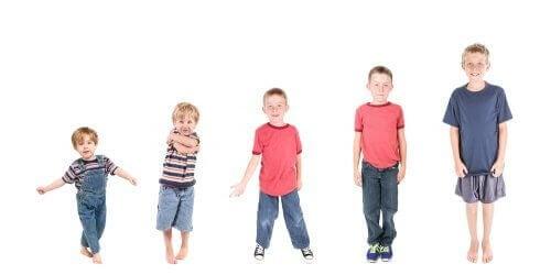 Lapsen kypsyyden kehittyminen vaiheineen