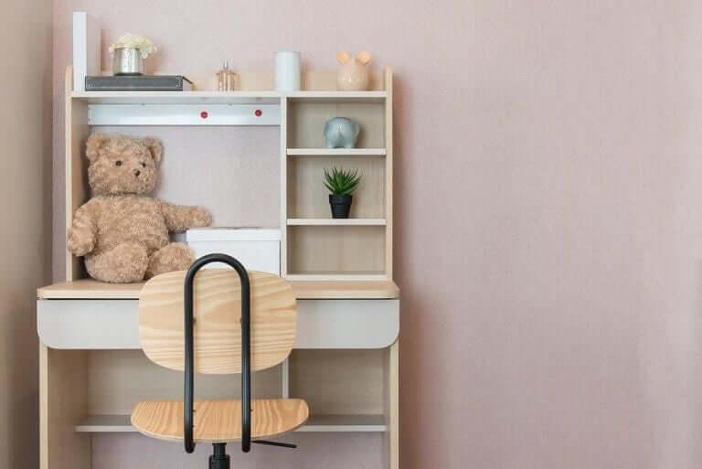 3 ideaa lapsen työpisteen sisustamiseen