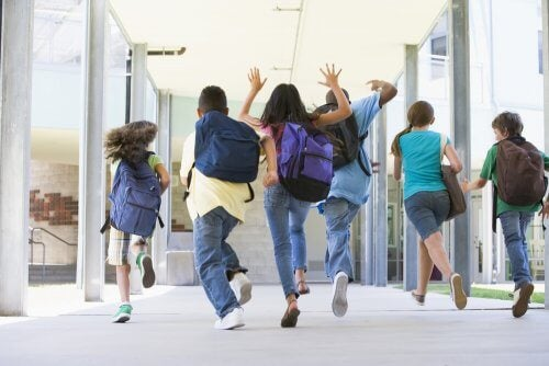 Ensimmäinen päivä lukiossa voi olla lapselle jännittävä kokemus