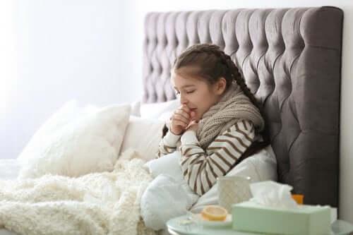 Lasten yleisimmät hengitystietartunnat