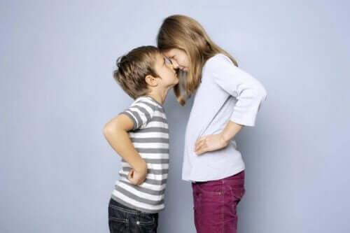 Sisarusten välistä kilpailua voivat aiheuttaa sisarusten erilaiset persoonallisuudet