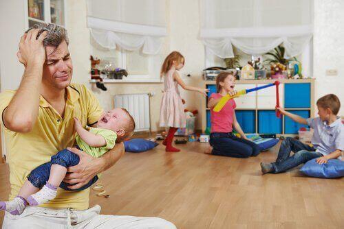 Kuinka yksinhuoltaja voi vähentää stressiään?