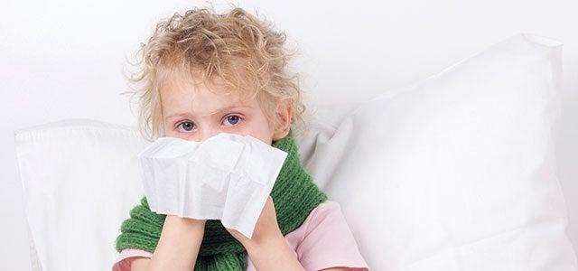 Kuinka hoitaa lapsen flunssaa?