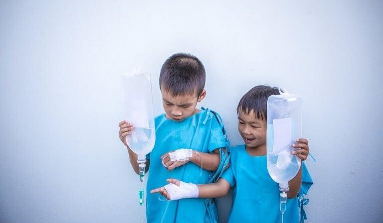 Monet lasten sairaudet eivät vaadi erityistä hoitoa