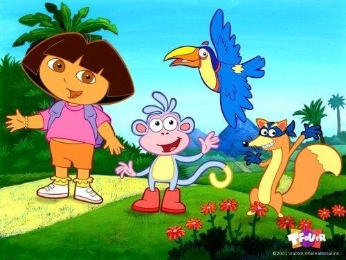 Parhaat televisio-ohjelmat pienille lapsille