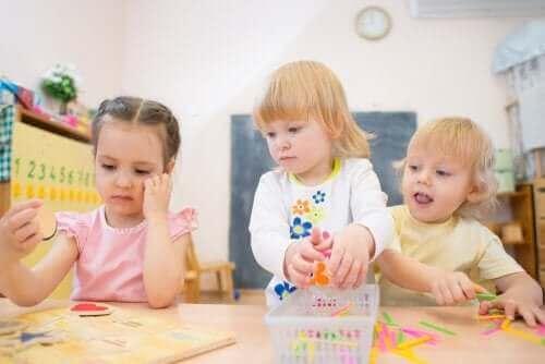 Lapsen keskittymiskyvyn kehittyminen