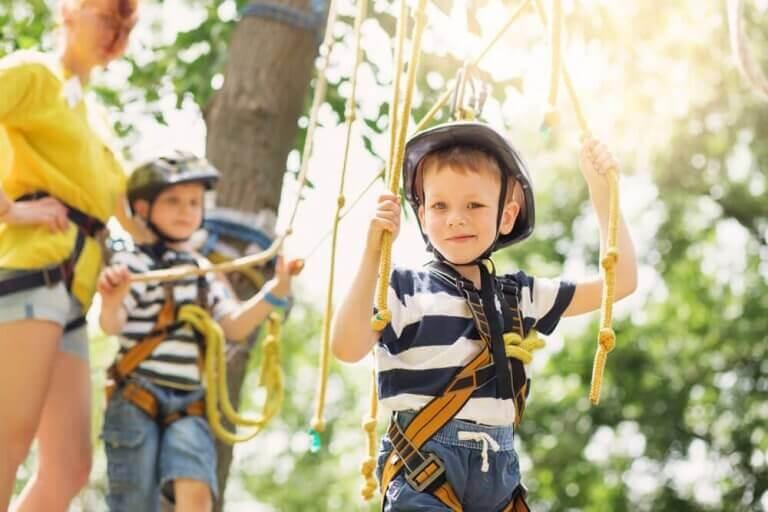 Lapsen on hyvä oppia myös kesällä, jotta kouluun paluu on helpompaa