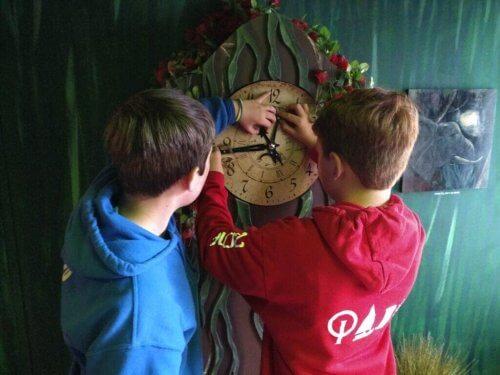 Pakohuoneet tarjoavat mielenkiintoista aktiviteettia lapsille