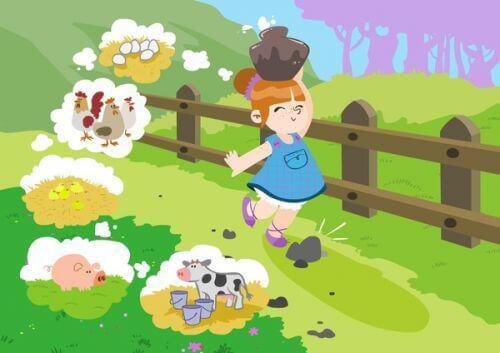 Eläinsadut opettavat lapselle arvoja