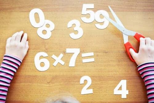 Numeroiden vaikea hahmottaminen voi olla yksi laskemiskyvyn häiriön merkeistä