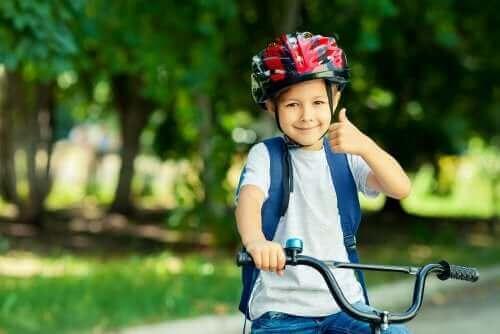 Lapselle on tärkeää opettaa sinnikkyyttä