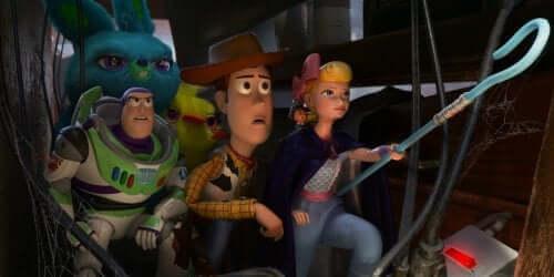 Toy Story 4 -elokuva sisältää viittauksia aiempiin Disney-elokuviin