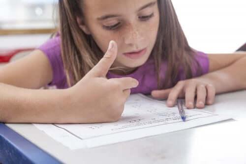 Mikä on dyskalkulia ja mitä ovat sen yleisimmät merkit lapsella?