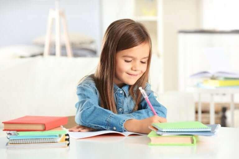 Erilaiset kaaviot lapsen opiskelun tukena