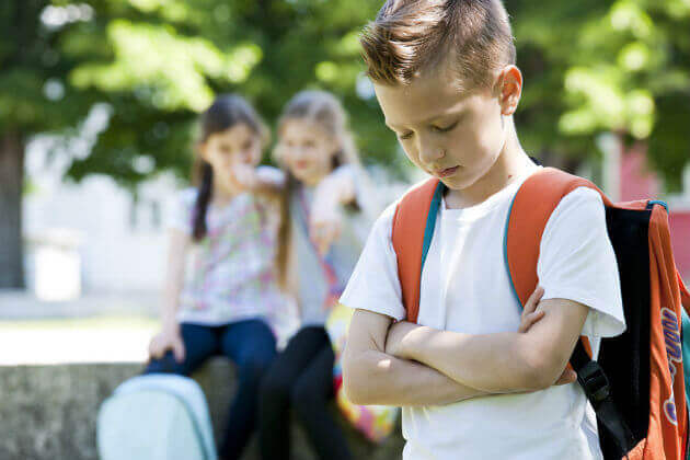 Kun lasta kiusataan, on hänen tärkeää tuntea olonsa rakastetuksi