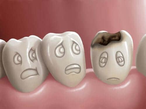 Hampaiden reikiintyminen ja sen ehkäiseminen