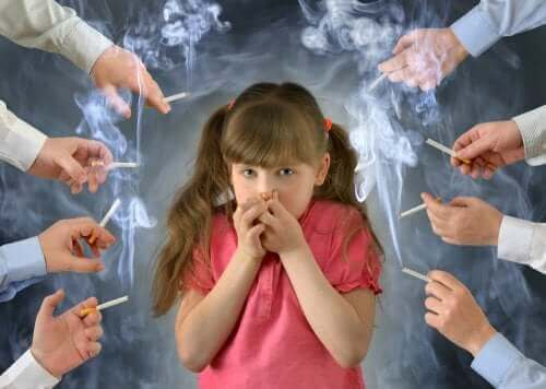 Tupakan vaikutukset lapseen