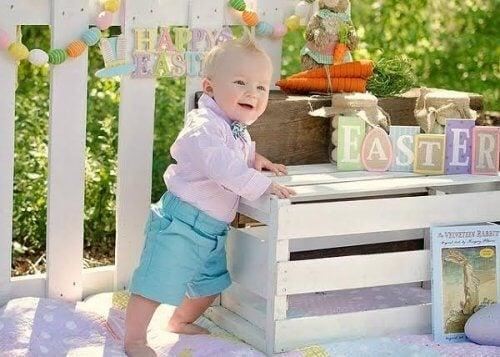6 saavutusta lapsen ensimmäisen elinvuoden aikana