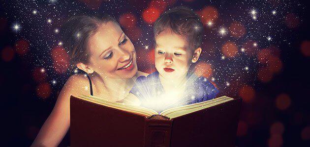 Opettavainen satu voi auttaa lasta käsittelemään hankalia tunteita