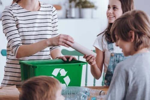 Kierrättäminen on tärkeää ympäristön säilymisen kannalta