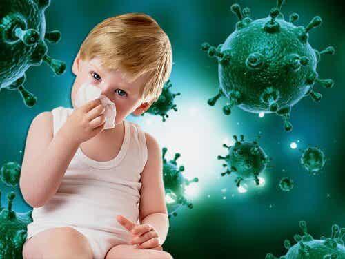 Tehoavatko antibiootit viruksia vastaan?