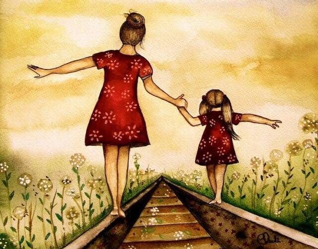 Äidin ja tyttären välinen suhde on voimakas, mutta aina yhteiselo ei ole helppoa