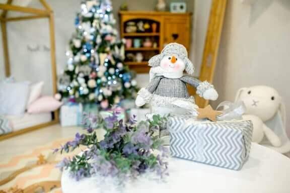 Ideoita lastenhuoneen koristelemiseen jouluksi