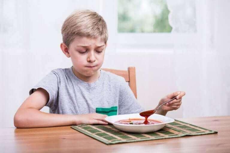 Valikoiva syöminen ilmenee hyvin rajoittuneena ja yksipuolisena ruokavaliona