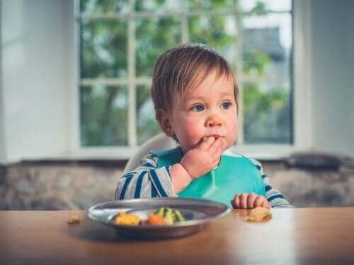 Mitä on lapsentahtinen sormiruokailu?