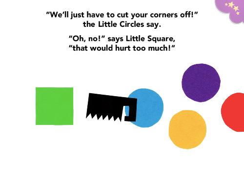 Four Little Corners -kirja tarjoaa lapselle tärkeitä opetuksia