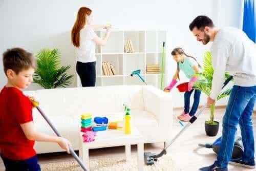 5 tapaa motivoida lasta auttamaan kotitöissä