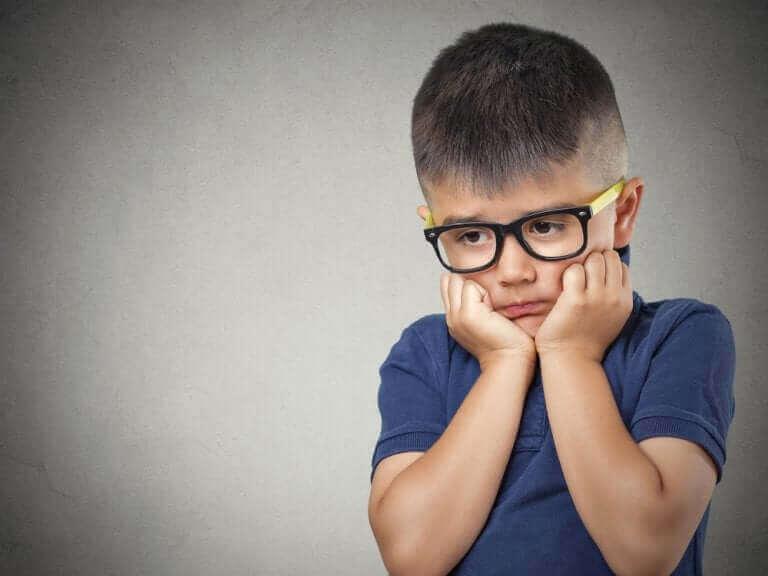 Lapsen yleistynyt ahdistuneisuushäiriö
