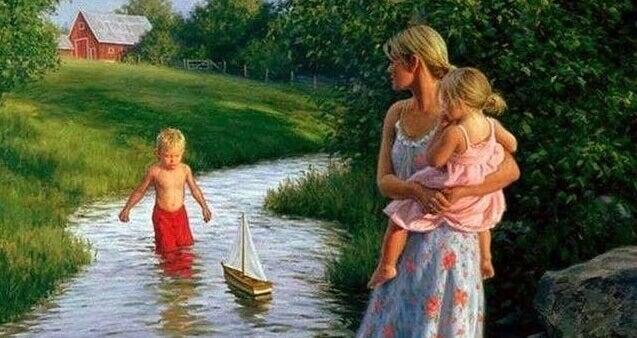 Lapset oppivat vanhempiensa antamasta esimerkistä