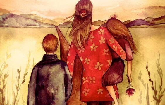 Perhe on sydämen asia
