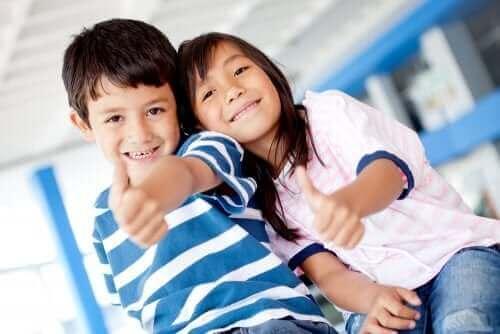 Kuinka edistää lapsen optimistisuutta?