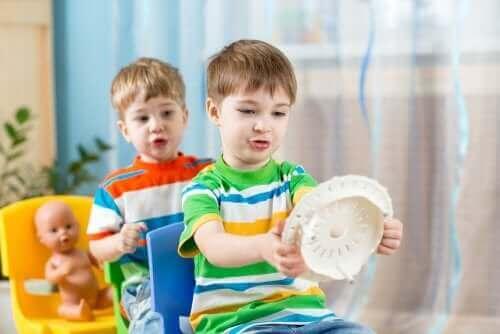 Lapsille suunnattu improvisaatioteatteri