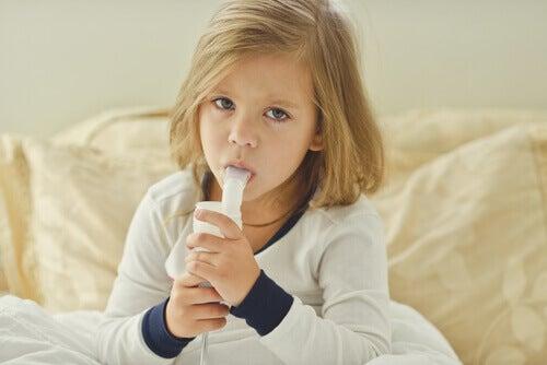 Keuhkoputkentulehdus lapsella